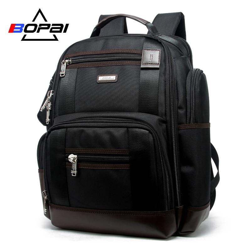 BOPAI Marke Multifunktions Reise Rucksack Tasche Große Kapazität Schultern Tasche Laptop Rucksack Mode Männer Rucksack Größe 43*35*20 cm