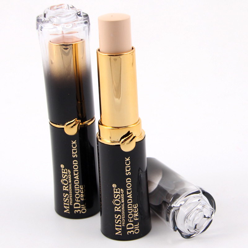 Miss Rose concealer beauty concealer stick eye base makeup anti dark circles professional covering foundation pencil face makeup image