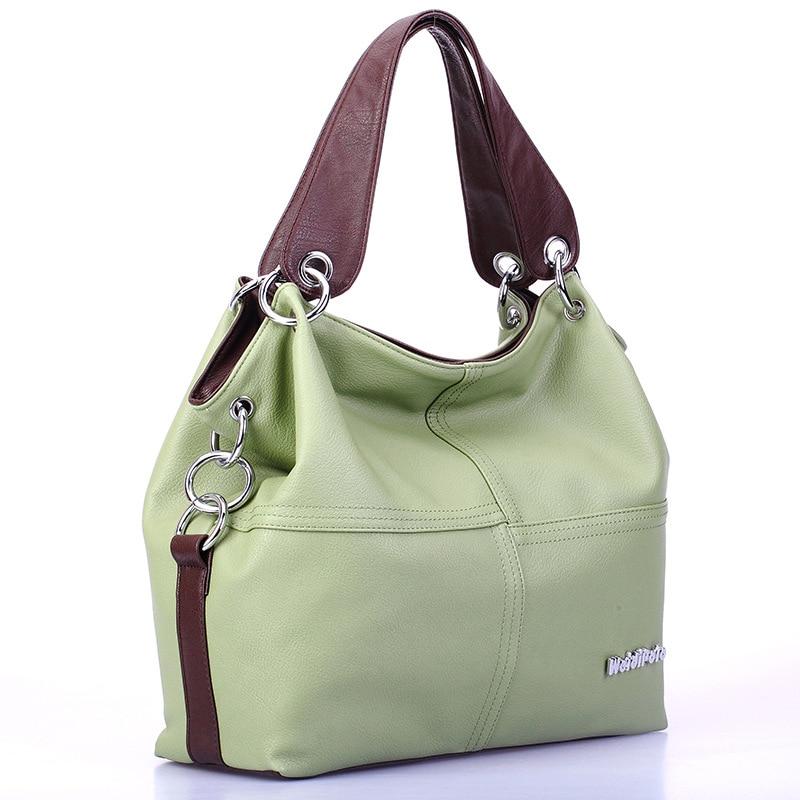 3357af8b94c9 2019 Women Versatile Handbag Soft Offer PU Leather Bags Zipper Messenger  Bag/ Splice Grafting Vintage Shoulder Crossbody Bags