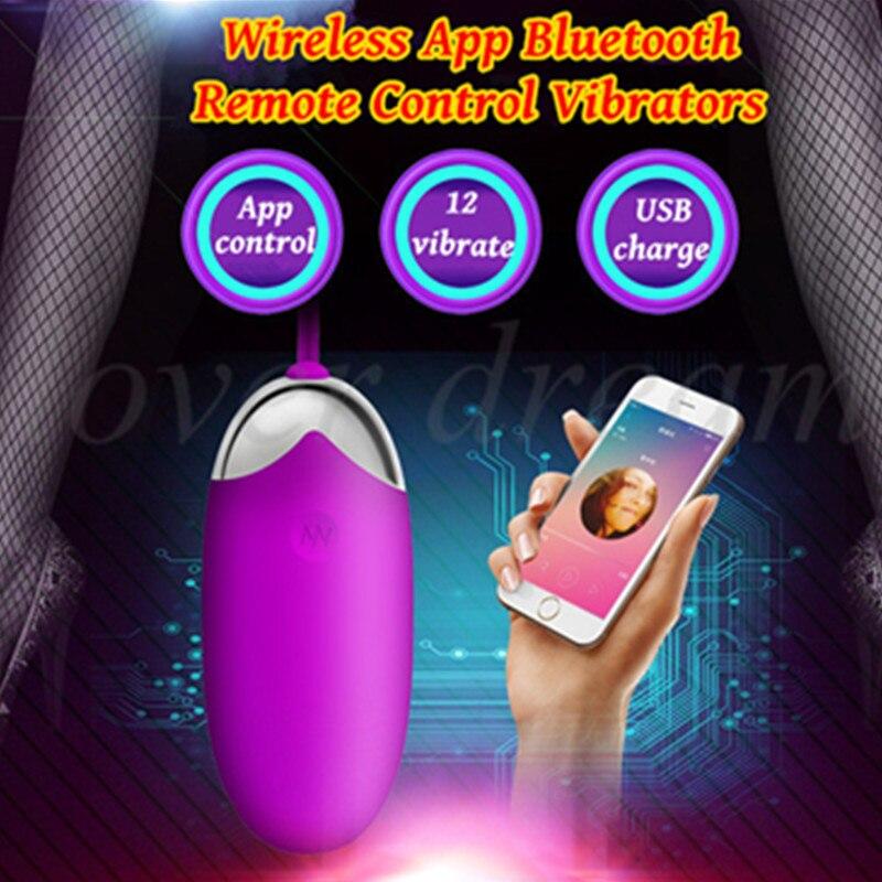 <font><b>Sex</b></font> Shop USB Charge Bluetooth Wireless <font><b>App</b></font> Remote Control Egg Vagina Masturbator <font><b>Vibrator</b></font> <font><b>Adult</b></font> <font><b>Sex</b></font> <font><b>Toys</b></font> <font><b>For</b></font> <font><b>Woman</b></font> <font><b>Sex</b></font> Machine