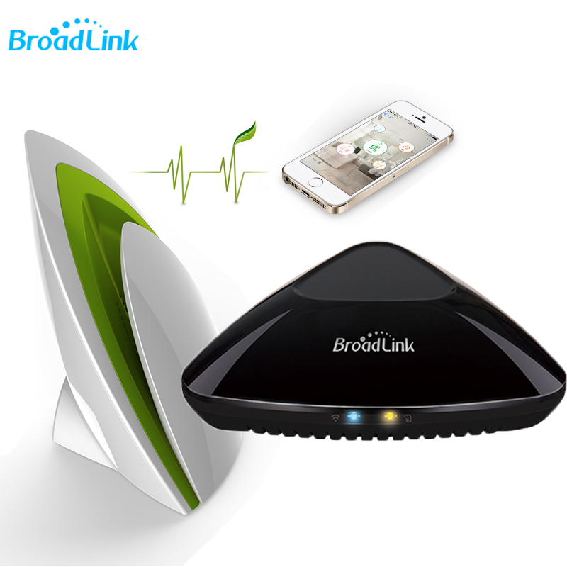 2018 Broadlink Rm Pro Rm3 Wifi+IR+RF Controller and A1 Air Quality Detector Smart Home Intelliget Remote Control Via IOS Android цена и фото