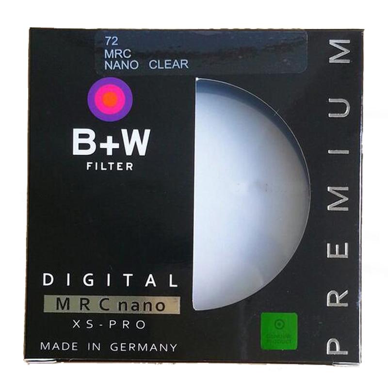 B + W 62 58 55 52 49mm mm mm mm mm mm mm mm 82 77 72 67mm XS-PRO MRC Nano Filtro Protetor UV Haze Ultra-fino MC Filtro Para Lente Da Câmera