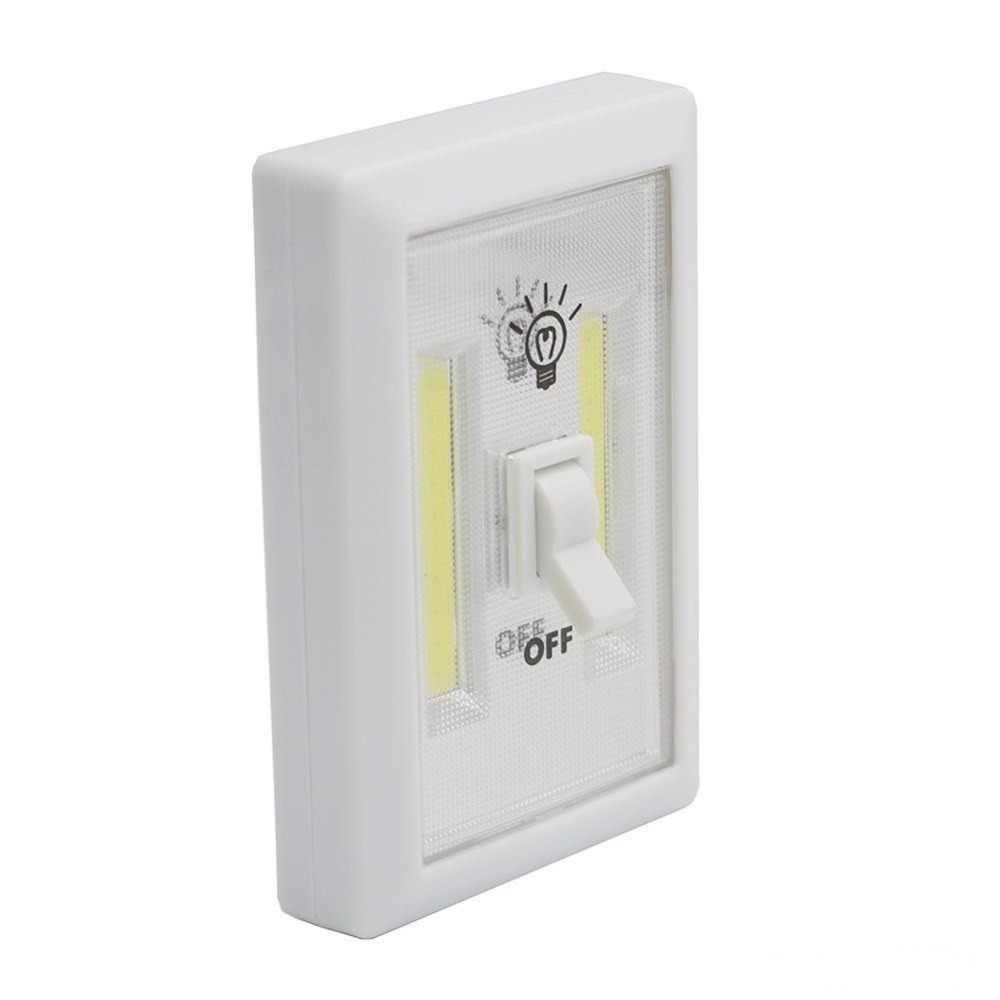 Z90 4 W COB лампада светодиодный пластиковый настенный светильник светодиодный настенный светильник прикроватная спальные Бра Арт настольная лампа, аварийная лампа