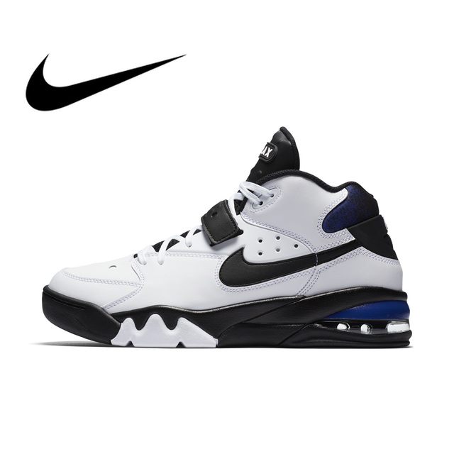 c4aad7bb101 Original Authentic NIKE AIR FORCE MAX Thread Men s Basketball Shoes Sneakers  AH5534 Sport Outdoor Breathable Comfortable Durable