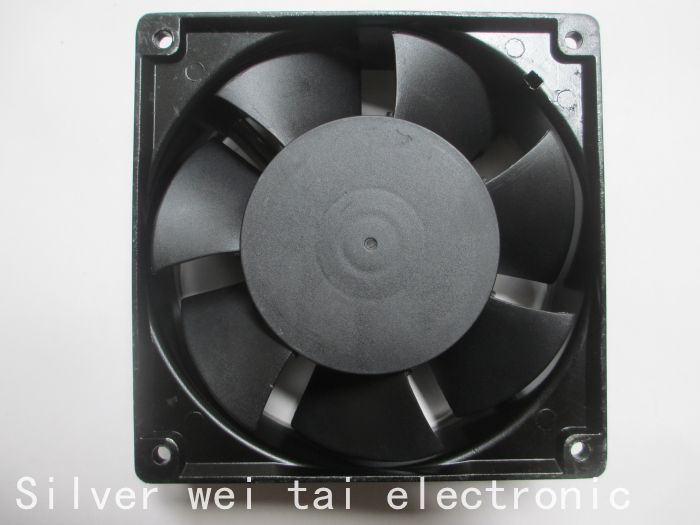 Used 90%NEW laptop cooling fan for CROWN MODEL IGE12038B1H T AC~110V 21/19W 12038 12CM 120X120X38mm  inverter fan yokatta model 19 6x15 4x108 et27 d65 1 w b