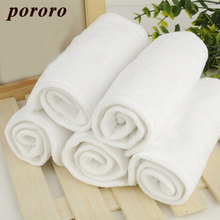 2pcs Baby Nappy Baby Diaper 13*35cm Insert Changing Pads Reusable Bamboo Charcoal Fiber Microfiber Mass Absorb New Arrival