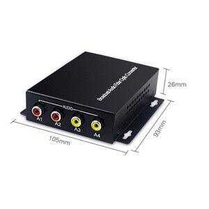 Image 4 - 2 אודיו מעל סיב אופטי FC Extender (דו) משדר ומקלט, עבור מערכת שידור אינטרקום אודיו (Tx/Rx) ערכת