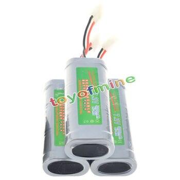 3pcs 7.2V Pack Ni-Mh 5000mAh rechargeable battery