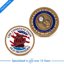 cheap  Custom Challenge 3D Military Coin high quality custom antique bronze coins