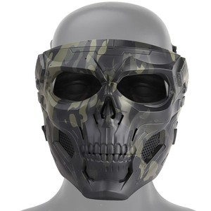 Image 5 - Tactical Hunting Shooting Equipment Gears Cloths Skull Messengers Unisex Full Protective Mask Helmet Head wear Accessories