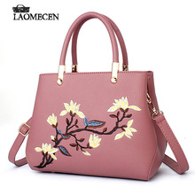 Fashion Designer Vintage Shoulder Bags with Flower pattern handbags Chinese style Ladies Solid Messenger bag for