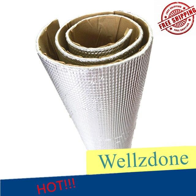 Car Firewall Ceiling Door Trunk Heat Sound Shield Deadener Insulation Material Proof Mat Anti Noise Deadening