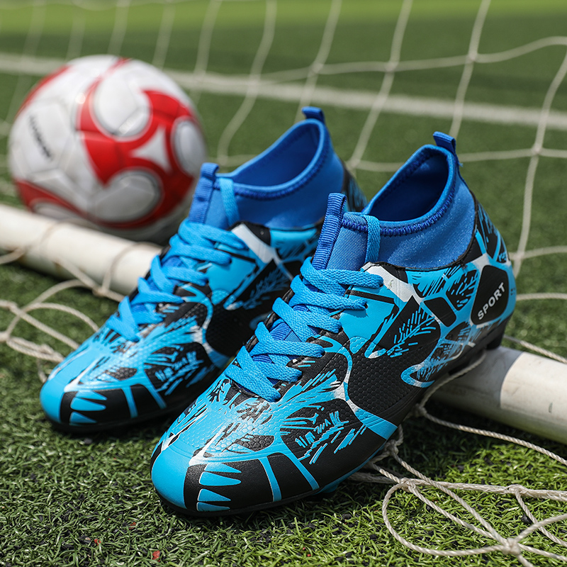 95d616585 BIG SALE  CHEAP ZUFENG Professional Turf Boys Soccer Shoes Men Ankle ...