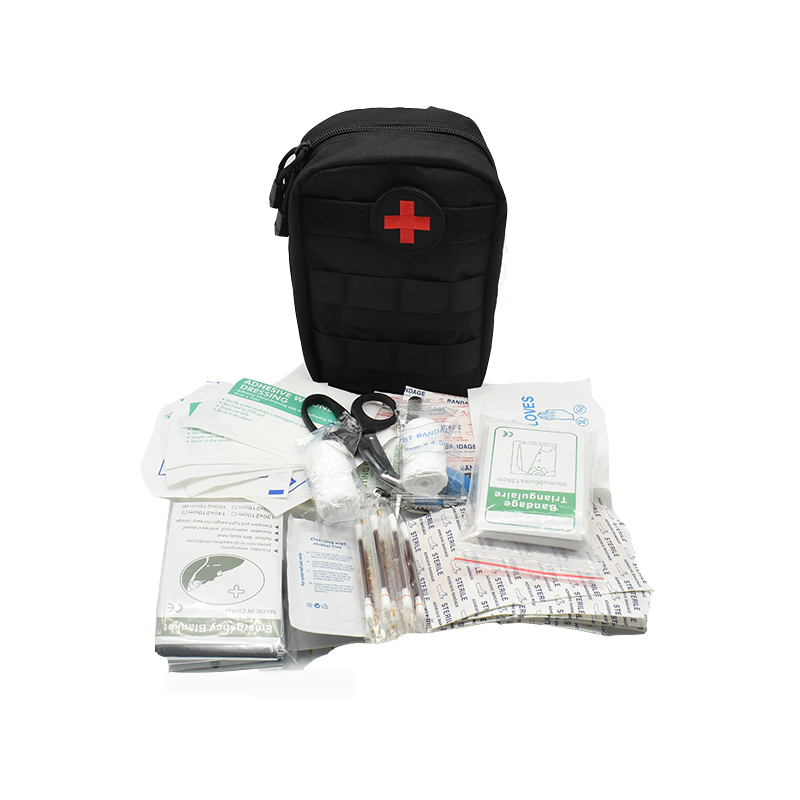 103Pcs First Aid Kit Tactical Medical Kits Travel Camping Outdoor Set Car Emergency Kit Survival Military First Aid Bag Molle(China)