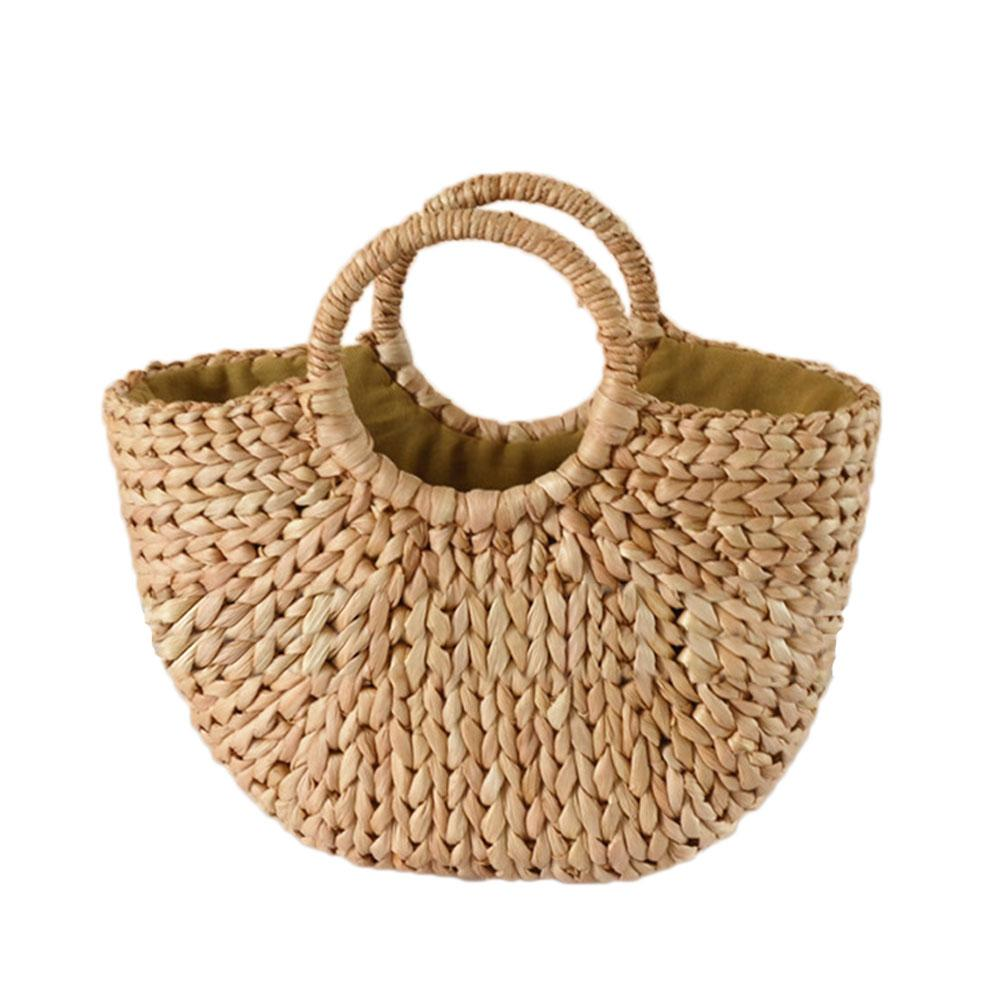Luggage & Bags Helpful Women Fashion Woven Bag Female Shoulder Oblique Hollow Holiday Beach Bag Small Fresh Straw Bag Discounts Sale