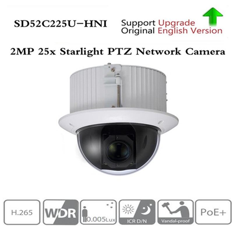 <font><b>Dahua</b></font> Auto-tracking PTZ H.265 SD52C225U-HNI <font><b>2MP</b></font> 25x Starlight PTZ Network <font><b>Camera</b></font> High Speed <font><b>IP</b></font> Dome <font><b>Camera</b></font> 1080p Auto-tracking image