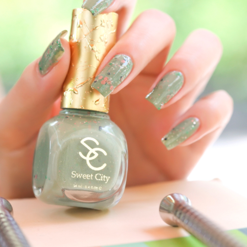 Modern Sweetheart Sweetcity Eco Friendly Nail Polish Oil Pudding Fral Bubble Mm257 Glitter Art In From Beauty Health On Aliexpress