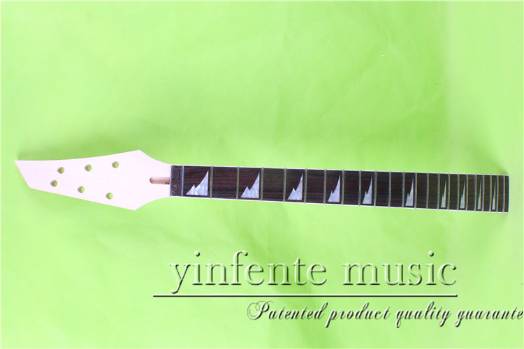 jkx-0096#      25.5 Electric guitar neck   Bolt on rosewood    fingerboard fine quality  22 fret aria cn 0096