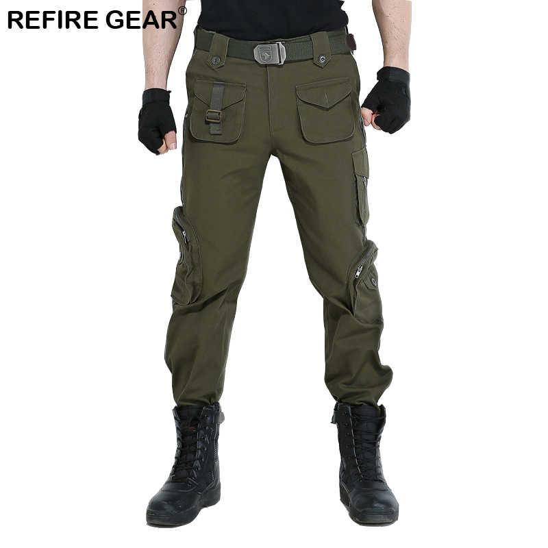 XRebel Cargo Hose Camouflage Freizeit Milit/är Hose Hiking Sport 1923