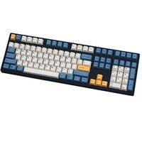 Teclado apricot com 108/143 teclas  teclado mecânico  tintura de cereja  mx  somente