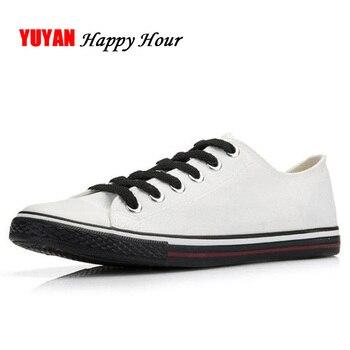 Fashion Brand Shoes Men Canvas Shoes Low top Breathable Cloth Footwear Men's Casual Shoes Classic White Black K299