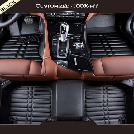 Custom car floor mats For Suzuki all model Grand Vitara Kizashi Swift JIMNY Wagon alivio SX4 X5 LANDY car accessories special car trunk mats for toyota all models corolla camry rav4 auris prius yalis avensis 2014 accessories car styling auto
