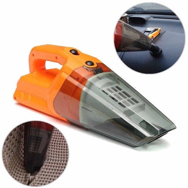 12V 60W Portable Handheld Car Vehicle Wet Dry Cigar Lighter Vacuum Dirt Cleaner Car Vacuum Cleaner Quick Clean-ups Around Car