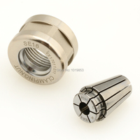 Replace ER16 NEW SE16 Spring Collet And Clamping Nut Set For CNC Milling Chuck Tool Holder