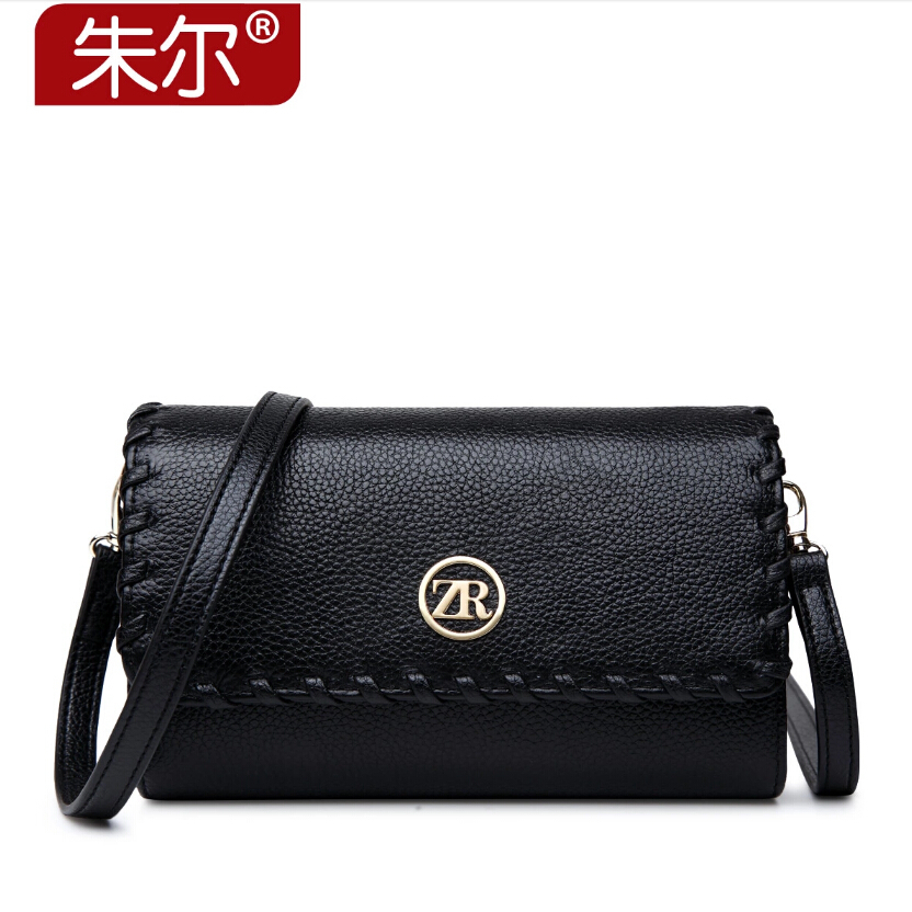 ФОТО ZOOELR free delivery Genuine Leather Women bag 2015 summer new single shoulder Messenger Bag Clutch Wallet Small square bag
