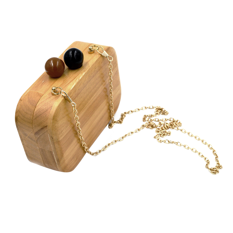 2017 New ! Creative Wood Bag Wallets Fashion Mini Wooden Evening Bag For Lady Wood Clutch Bags Women Shoulder Bag fashion coin purse wallets mini bag league creative personality canvas bags cartoon storage bags for cardholder in ear headphone