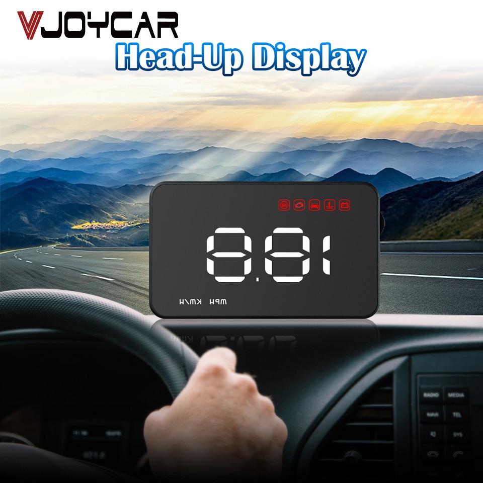 HEAD-UP DISPLAY HUD INTERNAL GPS 12V DIGITAL LED SPEEDO SPEED WARNING TRUCK BUS