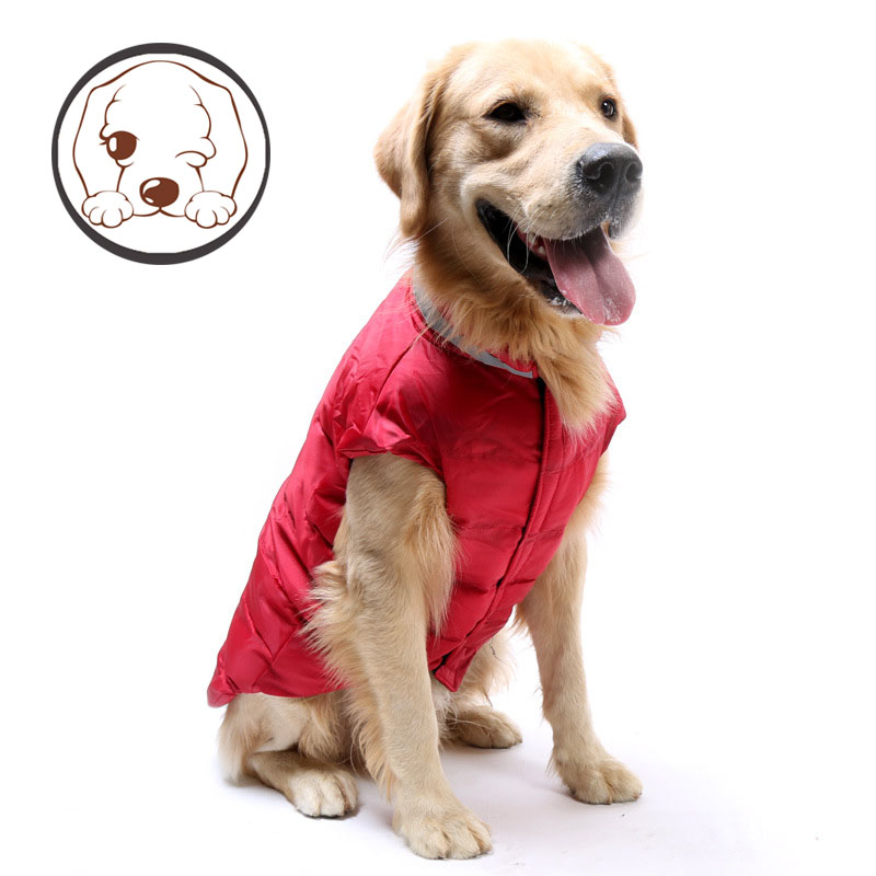 Waterproof Pet Dog Puppy Vest Jacket Chihuahua Clothing Warm Winter Dog Clothes Coat For Small Medium Large Dogs 1 Colors xs-m