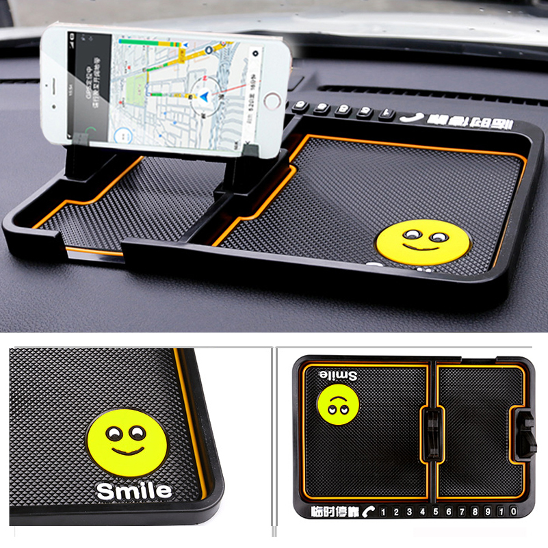 shdlife car cell phone anti slip pad mat for mercedes benz. Black Bedroom Furniture Sets. Home Design Ideas