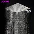 "8""  Stainless Steel Square rainfall shower head rain showerhead waterfall ceiling shower heads Wholesale Bathroom accessories"