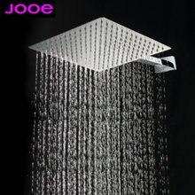 """8 """" en acier inoxydable carré pomme de douche pluie douche de pluie cascade plafond pommes de douche salle de bains gros accessoires"""