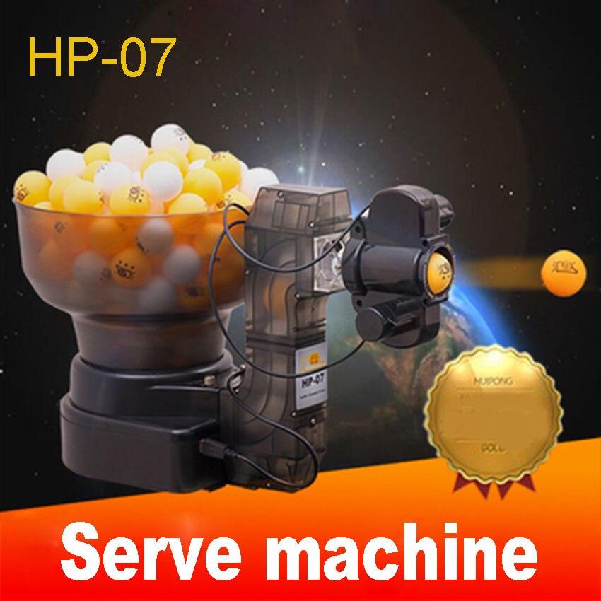 1PC HP-07 Ping Pong galda tenisa roboti Lodīšu automāti, automātiskā lodīšu mašīna 36 griezieni mājās ar mašīnu