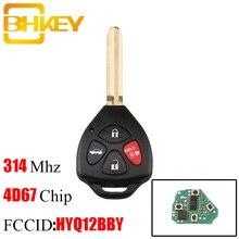 Klucz zdalny BHKEY 315Mhz dla Toyota HYQ12BBY dla Toyota Camry Avalon Corolla Matrix RAV4 Venza Yaris 4D67 lub G Chip opcjonalnie