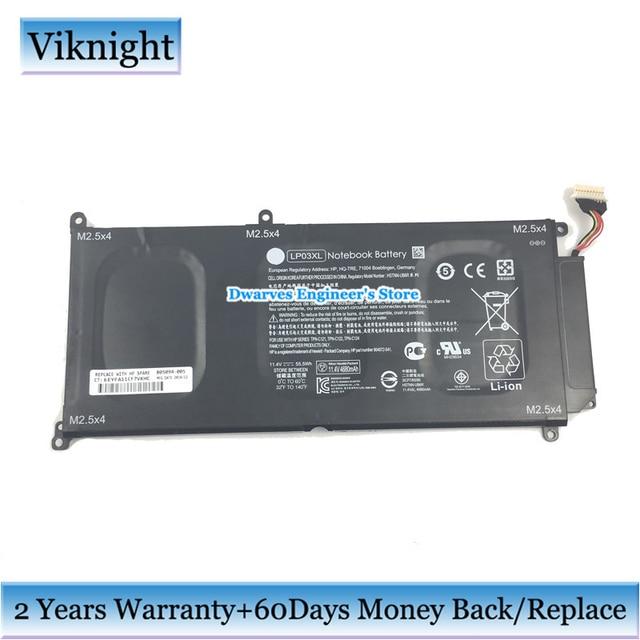 D\'origine LP03XL Batterie Pour HP Envy 15 Série Ordinateur Portable ...