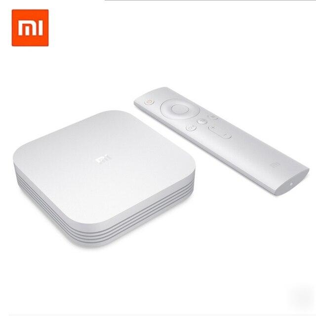 Xiao Mi Ми ТВ коробка 3 Pro 3 S Enhanced смарт 4 К HD 2 г + 8 г двойной USB 64bit 4 К 4 ядра Android 5.1 новый оригинальный