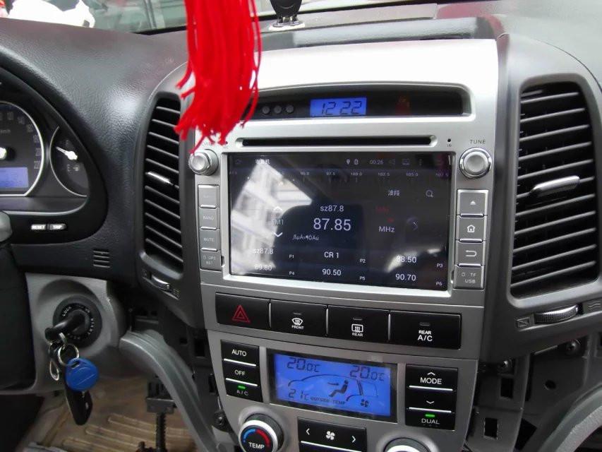 sistem navigatie cu android pentru hyundai santa fe 2006 2007 2008 2009 2010 2011 2012 caraudiomarket craiova