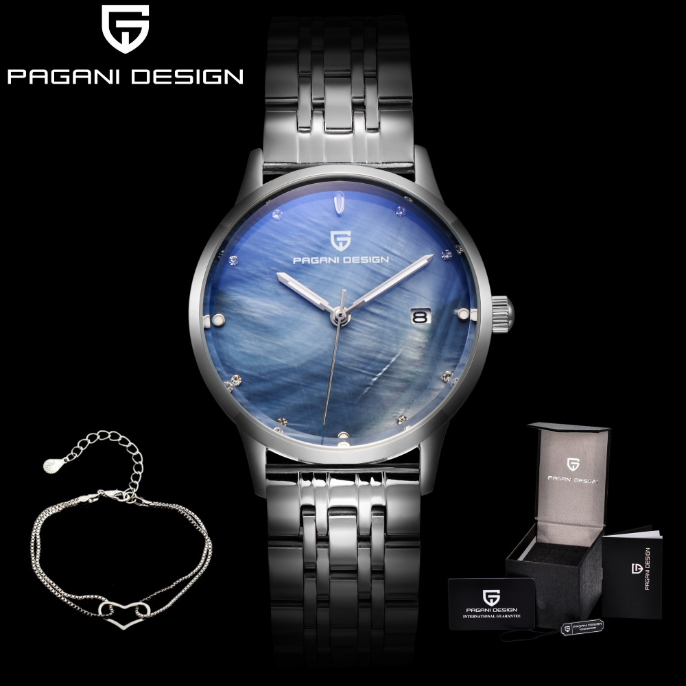 PAGANI DESIGN Brand Fashion Women Watches Reloj Mujer Luxury Waterproof Ladies Quartz Watch Relogio Feminino Saat Dropshipping купить в Москве 2019