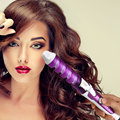 Hair Styling Perfect Curl Electric Hair Curler Spiral Salon Hair Rollers