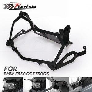 Image 1 - Per BMW F850GS F750GS Nero Del Faro Del Motociclo di protezione rete di protezione del faro a sgancio rapido faro della copertura