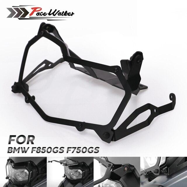 Per BMW F850GS F750GS Nero Del Faro Del Motociclo di protezione rete di protezione del faro a sgancio rapido faro della copertura