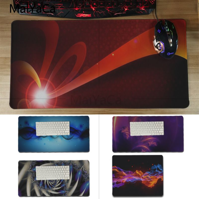 Yinuoda High Quality Light blue red DIY Design Pattern Game mousepad Size for 180*220 200*250 250*290 300*600 and 300*600*2mm