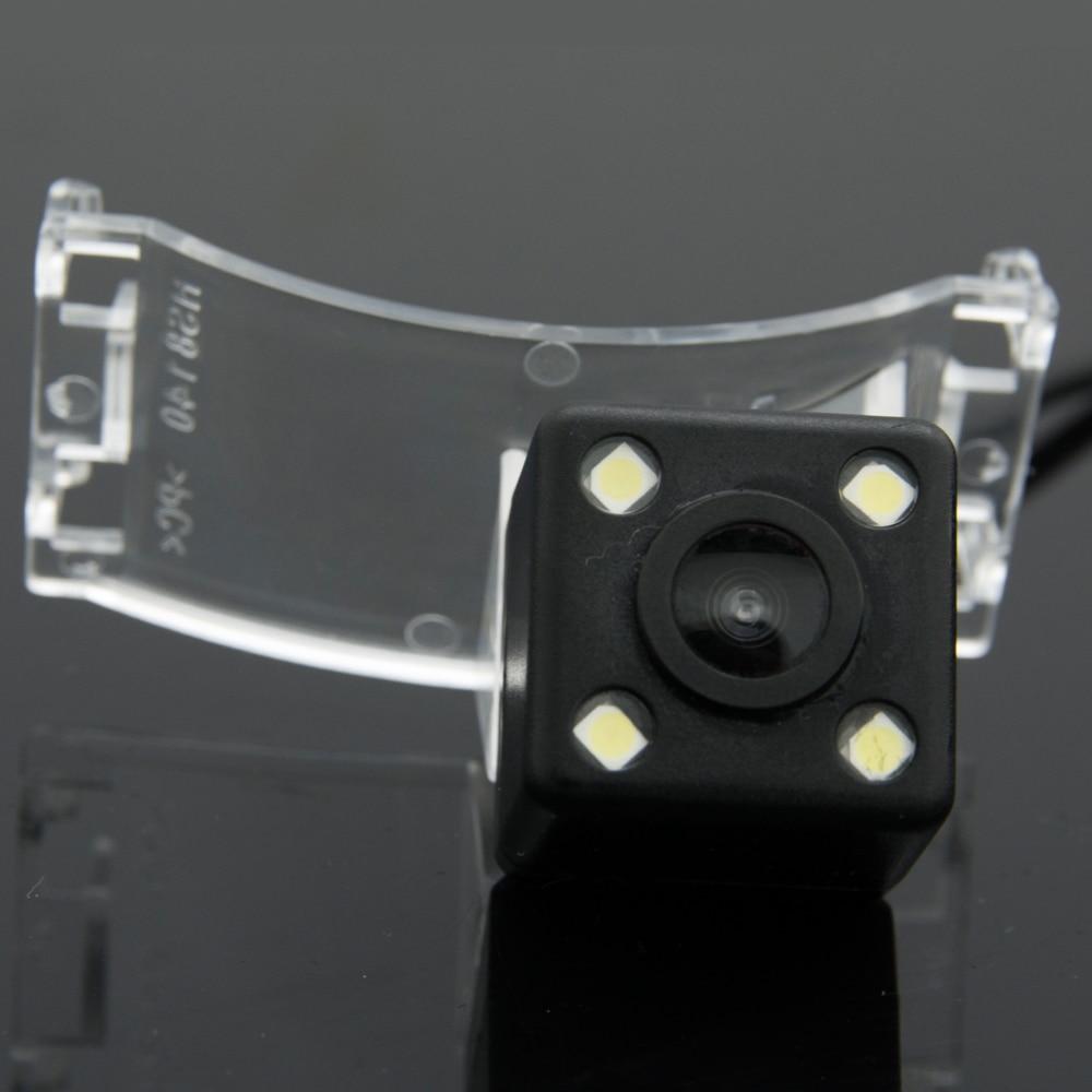 Waterproof 4 LED Rear View Camera BackUp Reverse Parking