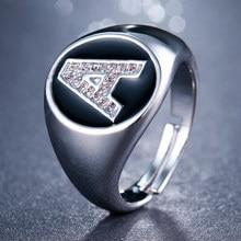 Emmaya новые модные очаровательные кольца с буквами AAA обручальное кольцо с кубическим цирконием для женщин Cz свадебные ювелирные изделия для ...