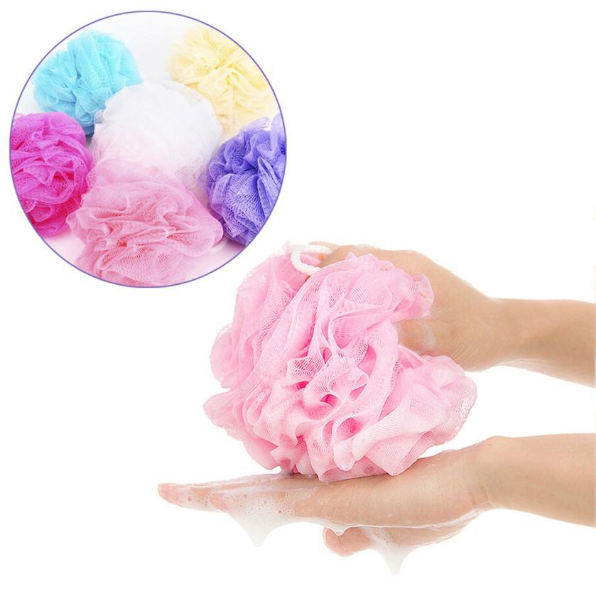 Buy 5pcs Bath Shower Body Exfoliate Puff Sponge Mesh Net Ball