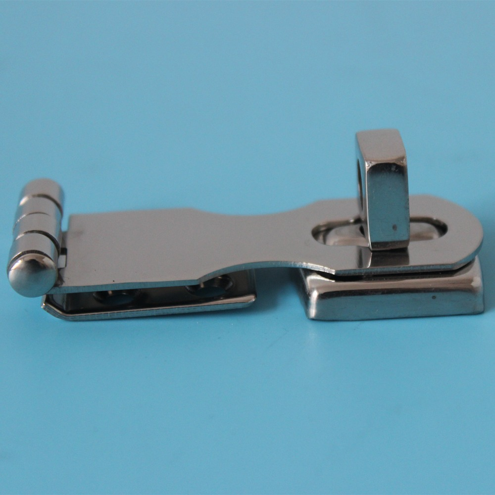 Boat Swivel Eye Locking Hasp latch- Hardware- 3 Marine 316 Stainless steel