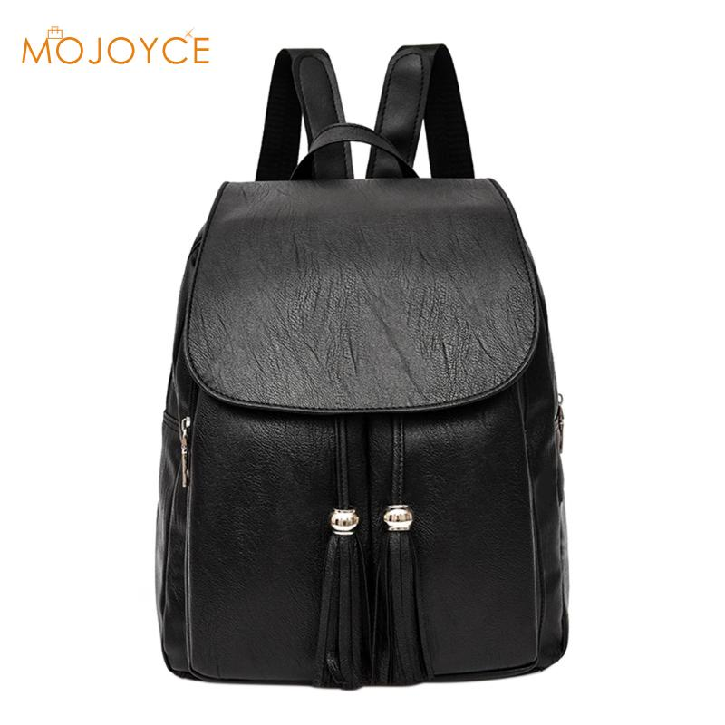 2018 Hot Sale Style Bookbags Womens Backpack Travel Bags Student School Bag Girl Backpacks Casual Travel Rucksack Tassel Bags new gravity falls backpack casual backpacks teenagers school bag men women s student school bags travel shoulder bag laptop bags